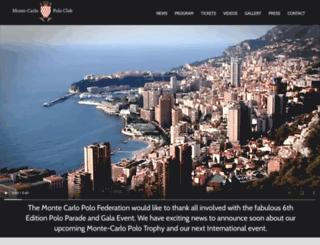 montecarlopoloclub.net screenshot