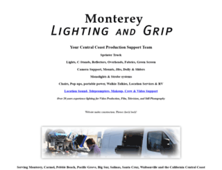 montereylightgrip.com screenshot