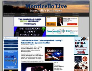monticellolive.com screenshot
