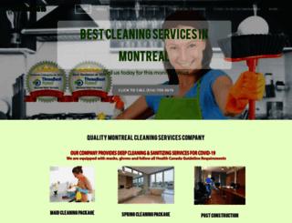 montrealmaidservices.com screenshot
