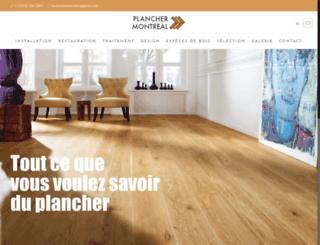 montrealplancher.ca screenshot