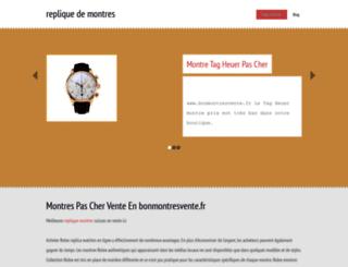 montres1.webnode.fr screenshot