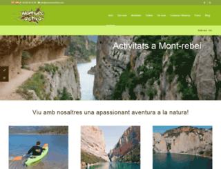 montsecactiva.com screenshot