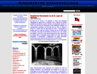monumentosdesaparecidos.blogspot.pt screenshot