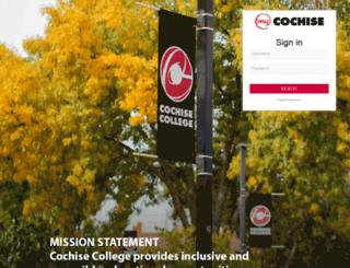 moodle.cochise.edu screenshot
