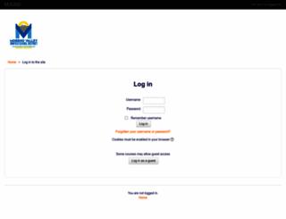moodle.mvusd.net screenshot