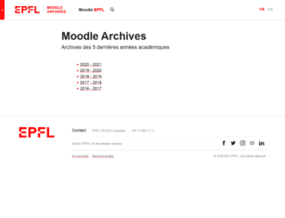 moodlearchive.epfl.ch screenshot