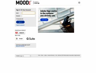moodmedia.echosign.com screenshot
