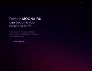 moona.ru screenshot