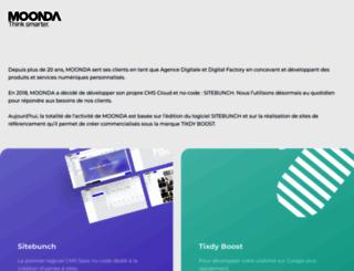 moonda.com screenshot