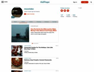 moonlake.hubpages.com screenshot