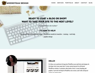 moonsteamdesign.com screenshot