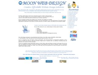 moonwebdesign.co.uk screenshot