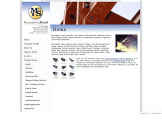 moorabbinsteel.com.au screenshot