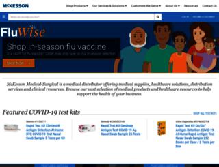 mooremedical.com screenshot