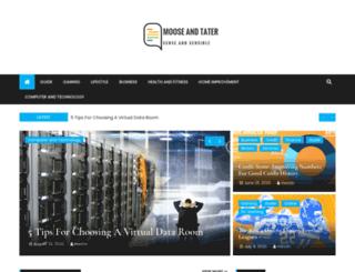 mooseandtater.com screenshot