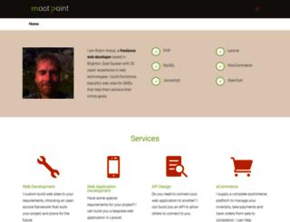mootpoint.org screenshot