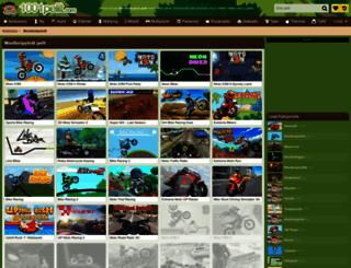moottoripyorat.1001pelit.com screenshot