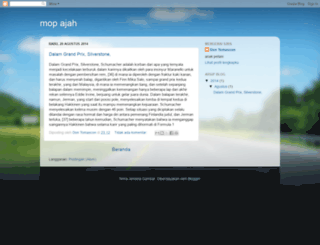 mopajah.blogspot.com screenshot