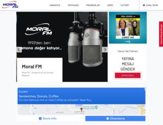 moralfm.com.tr screenshot