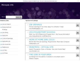 morejob.info screenshot