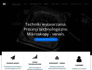 morektech.com.pl screenshot