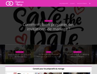 morelle-mariage.com screenshot