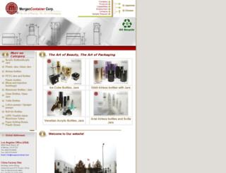 morgancontainer.com screenshot