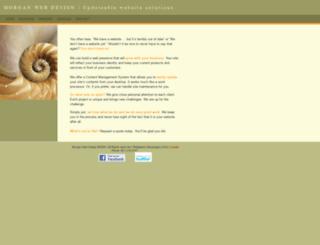 morganwebdesign.com screenshot