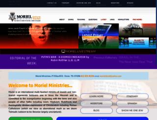 moriel.org screenshot
