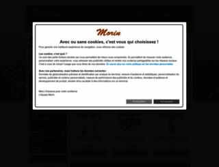 morinfrance.com screenshot