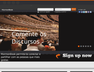 mormonbook.com.br screenshot