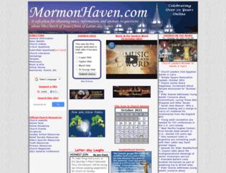 mormonhaven.com screenshot