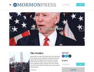 mormonpress.com screenshot