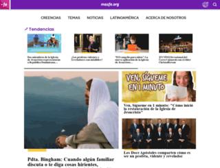mormonsud.org screenshot