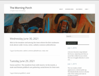 morningporch.com screenshot