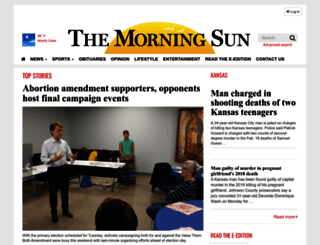 morningsun.net screenshot