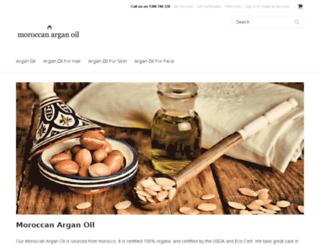 moroccan-argan-oil.com.au screenshot