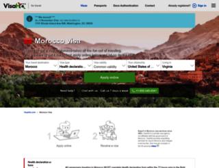 morocco.visahq.com screenshot