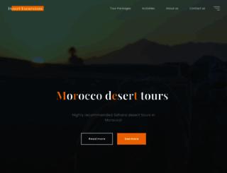 moroccodesertexcursions.com screenshot