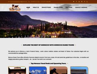 moroccodunestours.com screenshot