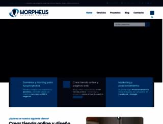 morpheus.es screenshot