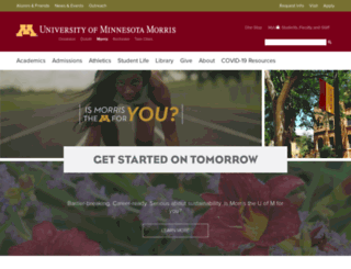 morris.umn.edu screenshot