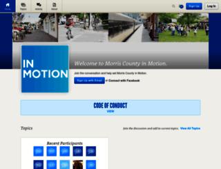 morriscounty.mindmixer.com screenshot