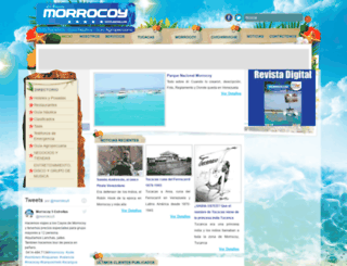 morrocoycincoestrellas.com.ve screenshot