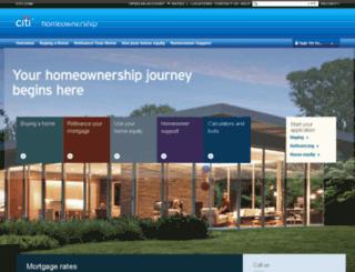 mortgage.com screenshot