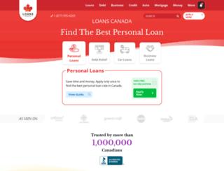 mortgagecalculatorcanada.com screenshot