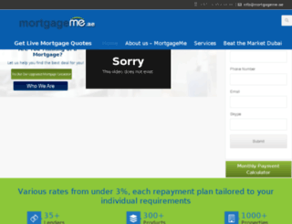 mortgageme.ae screenshot