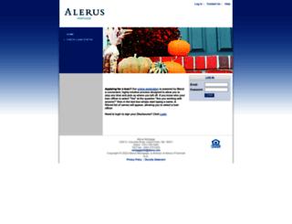 mortgagend.alerus.com screenshot