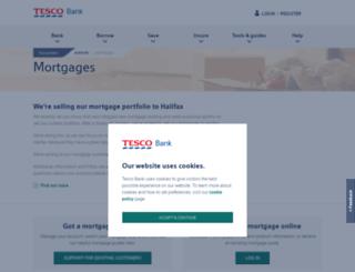 mortgages.tescobank.com screenshot